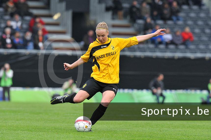 Bekerfinale 2012 : WD Lierse SK - Standard Femina :.Marleen Joore.foto David Catry / Joke Vuylsteke / Vrouwenteam.be