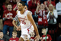 December 14, 2013: Walter Pitchford (35) of the Nebraska Cornhuskers after the dunk against the Arkansas State Red Wolves at the Pinnacle Bank Areana, Lincoln, NE. Nebraska defeated Arkansas State 79 to 67.