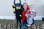 Moyvane Festival :  Attending  the Halloween party at the Marion Hall, Moyvane on Monday afternoon last were Arya, Kerry & Shea Stack, Moyvane