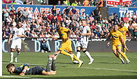 Preston North End's Daniel Johnson celebrates scoring his side's second goal <br /> <br /> Photographer David Horton/CameraSport<br /> <br /> The EFL Sky Bet Championship - Swansea City v Preston North End - Saturday 17th August 2019 - Liberty Stadium - Swansea<br /> <br /> World Copyright © 2019 CameraSport. All rights reserved. 43 Linden Ave. Countesthorpe. Leicester. England. LE8 5PG - Tel: +44 (0) 116 277 4147 - admin@camerasport.com - www.camerasport.com
