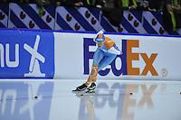 SCHAATSEN: HEERENVEEN: IJsstadion Thialf, 29-12-2015, KPN NK Afstanden, 5000m Dames, Jorien Voorhuis, ©foto Martin de Jong