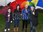 Kate whelan, Abbie O'Brien, Theresa Whelan and Caitlin Whelan at the Shane Whelan day at Naomh Mairtin GFC. Photo:Colin Bell/pressphotos.ie