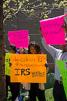 Protest against government sequestration