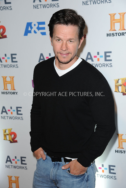 WWW.ACEPIXS.COM<br /> May 8, 2014 New York City<br /> <br /> Mark Wahlberg attending the A+E Networks 2014 Upfronts at the Park Avenue Armory on May 8, 2014 in New York City.<br /> <br /> Please byline: Kristin Callahan<br /> <br /> ACEPIXS.COM<br /> <br /> Tel: (212) 243 8787 or (646) 769 0430<br /> e-mail: info@acepixs.com<br /> web: http://www.acepixs.com
