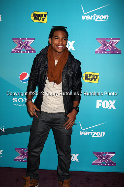 LOS ANGELES - NOV 5:  Arin Ray arrives at the X-Factor Season Two FInalist Party at SLS Hotel at Beverly Hills on November 5, 2012 in Los Angeles, CA