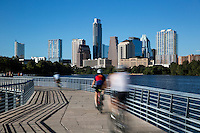 In June 2014, The Boardwalk Trail at Lady Bird Lake, a lakefront boardwalk, including a series of bridges directly over the water, was completed, closing a short gap on the trail's south side and uniting its east and west halves. The Boardwalk Trail at Lady Bird Lake is Austin's new favorite trail for cyclists and bike enthusiast.
