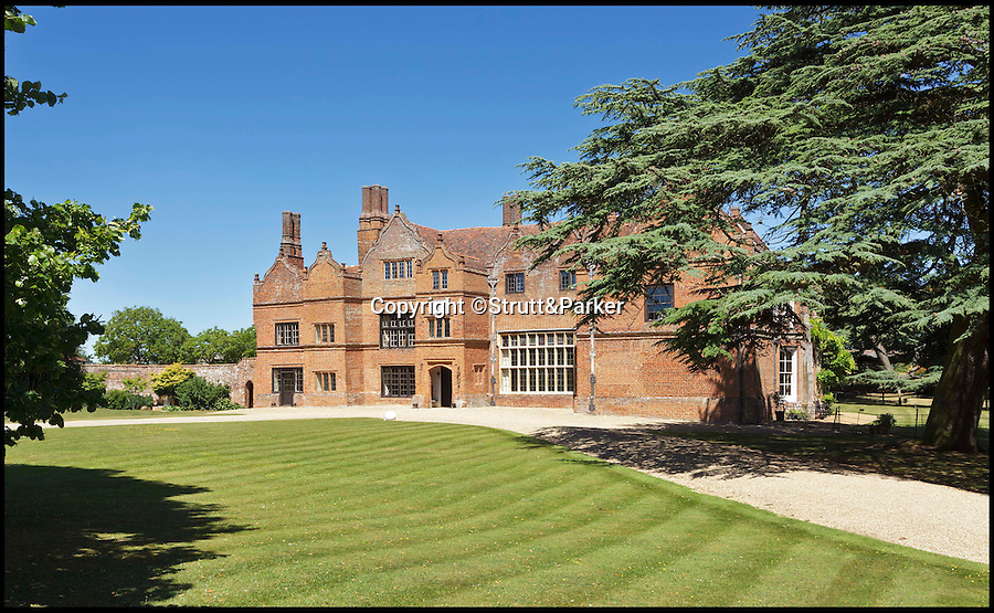 BNPS.co.uk (01202 558833)<br /> Pic: Strutt&Parker/BNPS<br /> <br /> A historic country estate which was once the subject of a 150 year mystery of sunken treasure has gone on the market for the first time in 250 years.<br /> <br /> Spains Hall in Essex was burgled in the 18th century but the raiders' getaway cart got stuck in a bog and they threw their loot of silver in a lake on the estate.<br /> <br /> It wasn't until 1902 the lake was drained and the treasure was found. <br /> <br /> The estate in now on the market for £6m.