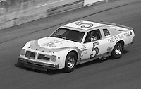 Joe Ruttman in his Pontiac during the ARCE race before the Daytona 500, Daytona International Speedway, Daytona Beach, FL, February 15, 1981.  (Photo by Brian Cleary/www.bcpix.com)