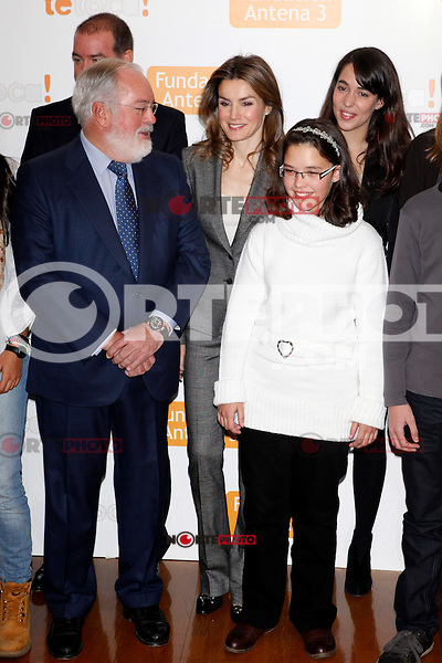 Princess Letizia of Spain attends Antena 3 Foundation meeting. December 03, 2012. (ALTERPHOTOS/Caro Marin) ©/NortePhoto /NortePhoto©