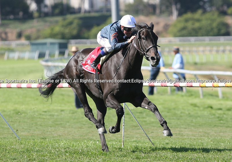 05 July 2009: Gozzip Girl and Kent Desormeaux win the American Oaks (GI) at Hollywood Park in Inglewood, CA