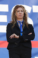 Erika Stefani Minister of Regional Affairs<br /> Rome December 8th 2018. Rally of Lega Nord Party 'Italians first' in Piazza del Popolo.<br /> Foto Insidefoto