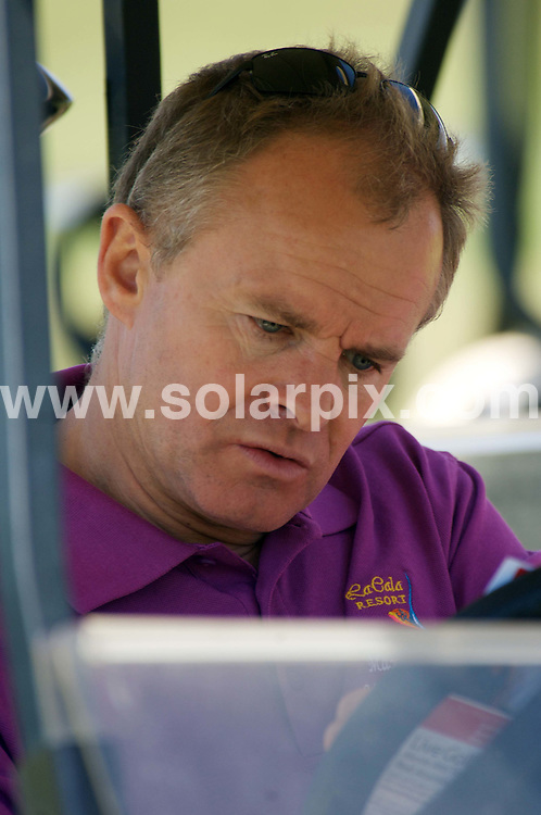 **ALL ROUND PICTURES FROM SOLARPIX.COM**.**WORLDWIDE SYNDICATION RIGHTS**.Guests attend the Rhys Daniels Trust Max Clifford Celebrity Golf Tournament charity event in Marbella, Spain. 7th June 2008..This pic: Bobby Davro..JOB REF: 6597 JGS        DATE: 07_06_2008.**MUST CREDIT SOLARPIX.COM OR DOUBLE FEE WILL BE CHARGED* *UNDER NO CIRCUMSTANCES IS THIS IMAGE TO BE REPRODUCED FOR ANY ONLINE EDITION WITHOUT PRIOR PERMISSION*