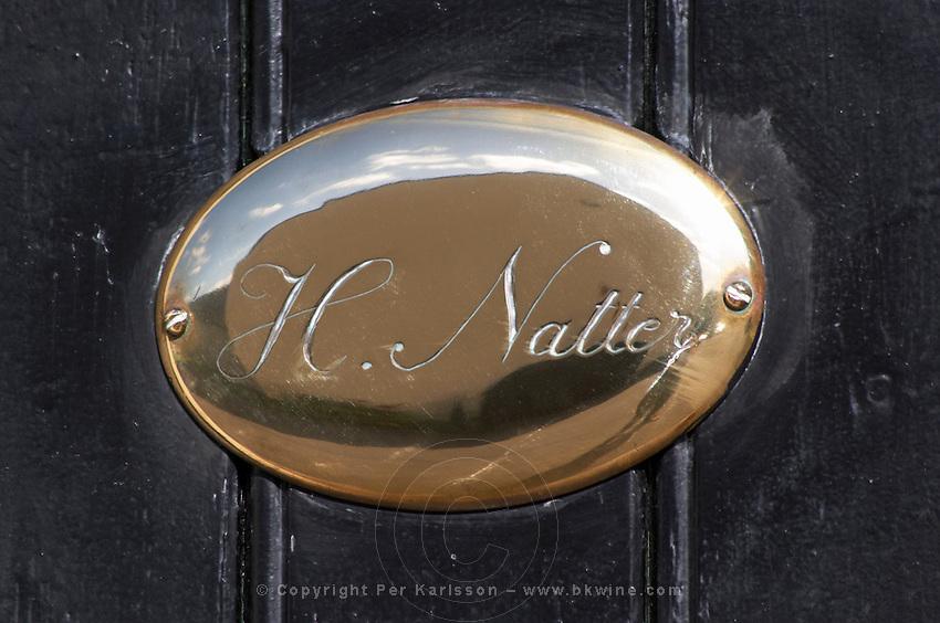 H Natter. Domaine Henry Natter, Montigny, Sancerre, Loire, France