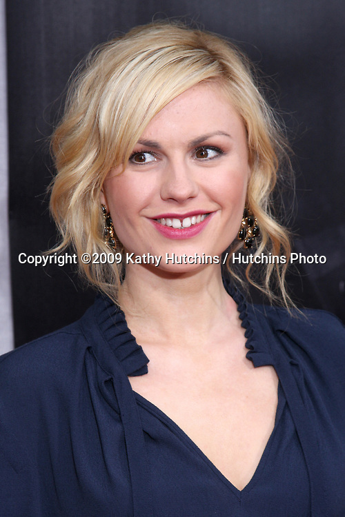 """Anna Paquin arriving at the """"True Blood"""" Season 2 Premiere Screening at the Paramount Theater , at Paramount Studios, in  Los Angeles , CA on June 9, 2009 .©2009 Kathy Hutchins / Hutchins Photo."""