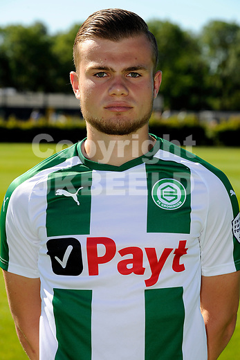 GRONINGEN - Presentatie FC Groningen o23, seizoen 2018-2019,   30-06-2018,  Luka Prljic