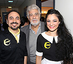 Placido Domingo visits ¡Figaro! (90210)