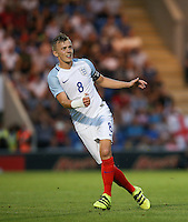 James Ward-Prowse (Southampton) of England during the International EURO U21 QUALIFYING - GROUP 9 match between England U21 and Norway U21 at the Weston Homes Community Stadium, Colchester, England on 6 September 2016. Photo by Andy Rowland / PRiME Media Images.