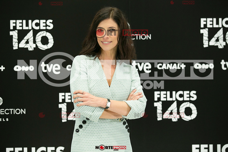 "Maribel Verdu attend the Presentation of ""Happy 140"" (Felices 140) Movie at Eurobuilding Hotel, Madrid,  Spain. April 07, 2015.(ALTERPHOTOS/)Carlos Dafonte) /NORTEphoto.com"