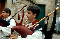 Gaita (Dudelsack), Santiago de Compostella, Galicien, Spanien