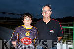 Matthew and Jimmy Browne at the Austin Stacks GAA Club night at the Dogs in the Kingdom Greyhound Track on Saturday night.