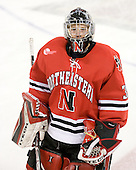 Brad Thiessen (Northeastern - 39) - The Boston College Eagles defeated the visiting Northeastern University Huskies 7-1 on Friday, March 9, 2007, to win their Hockey East quarterfinals matchup in two games at Conte Forum in Chestnut Hill, Massachusetts.