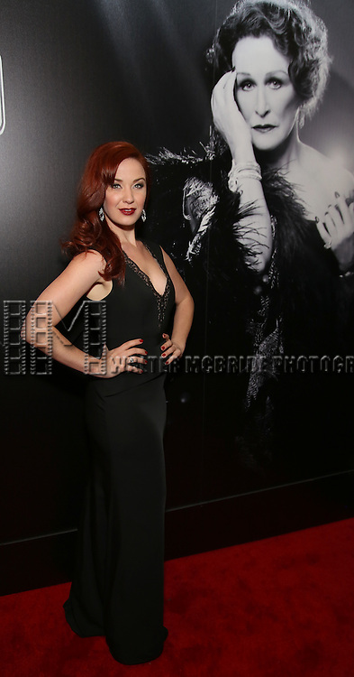 Sierra Boggess attends the Broadway Opening Night of Sunset Boulevard' at the Palace Theatre Theatre on February 9, 2017 in New York City.