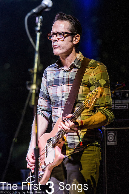 Josh Fauver of Deerhunter performs at the 2nd Annual BottleRock Napa Festival at Napa Valley Expo in Napa, California.