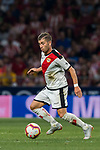 Adrian Embarba Blazquez, A Embarba, of Rayo Vallecano in action during the La Liga 2018-19 match between Atletico de Madrid and Rayo Vallecano at Wanda Metropolitano on August 25 2018 in Madrid, Spain. Photo by Diego Souto / Power Sport Images
