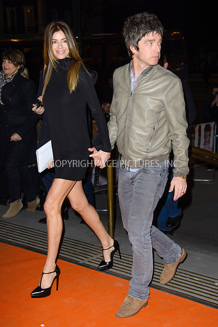 WWW.ACEPIXS.COM....US Sales Only....March 20 2013, London....Sara MacDonald and Noel Gallagher at the 'David Bowie Is' gala night held at the Victoria and Albert Museum (V&A) on March 20 2013 in London....By Line: Famous/ACE Pictures......ACE Pictures, Inc...tel: 646 769 0430..Email: info@acepixs.com..www.acepixs.com