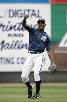 July 7 2009: Welington Dotel of the Everett AquaSox before game against the Yakima Bears at Everett Memorial Stadium in Everett,WA.  Photo by Larry Goren/Four Seam Images