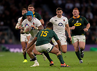 England's Jack Nowell in action during todays match<br /> <br /> Photographer Bob Bradford/CameraSport<br /> <br /> Quilter Internationals - England v South Africa - Saturday 3rd November 2018 - Twickenham Stadium - London<br /> <br /> World Copyright © 2018 CameraSport. All rights reserved. 43 Linden Ave. Countesthorpe. Leicester. England. LE8 5PG - Tel: +44 (0) 116 277 4147 - admin@camerasport.com - www.camerasport.com