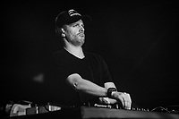 DJ Wire performs at AmpRocks 2018, part of AmpFest, at Ampthill Great Park, Ampthill, England on 29 June 2018. Photo by David Horn.
