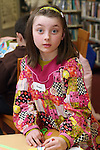 Rachel Smith at the Card Making Workshop in The Library...Photo NEWSFILE/Jenny Matthews.(Photo credit should read Jenny Matthews/NEWSFILE)....This Picture has been sent you under the condtions enclosed by:.Newsfile Ltd..The Studio,.Millmount Abbey,.Drogheda,.Co Meath..Ireland..Tel: +353(0)41-9871240.Fax: +353(0)41-9871260.GSM: +353(0)86-2500958.email: pictures@newsfile.ie.www.newsfile.ie.FTP: 193.120.102.198.