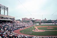 Ballparks: Akron--Canal Park. Grandstand.