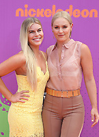LOS ANGELES, CA July 13- Karin Kildow, Lindsey Vonn, At Nickelodeon Kids' Choice Sports Awards 2017 at The Pauley Pavilion, California on July 13, 2017. Credit: Faye Sadou/MediaPunch