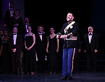 """Jason Gotay and Lauren Worsham during the Curtain Call for the closing Night performance of  Encores! """"Call Me Madam"""" at City Center on February 10, 2019 in New York City."""