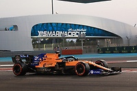 30th November 2019; Yas Marina Circuit, Abu Dhabi, United Arab Emirates; Formula 1 Abu Dhabi Grand Prix, qualifying day; McLaren, Carlos Sainz - Editorial Use