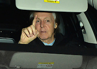 Sir Paul McCartney attending Rolling Stone Mick Jagger's Christmas party in London, UK.<br /> <br /> DECEMBER 13th 2018. Credit: Matrix/MediaPunch ***FOR USA ONLY***<br /> <br /> REF: LTN 184623