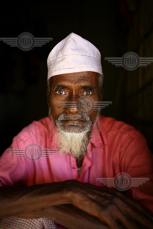 80 year old fisherman in Sunamganj. He received a microfinance loan from IFAD (International Fund for Agricultural Development).