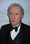 CENTURY CITY, CA. - February 20: James Cameron  arrives at the 2010 Writers Guild Awards at the Hyatt Regency Century Plaza Hotel on February 20, 2010 in Los Angeles, California.