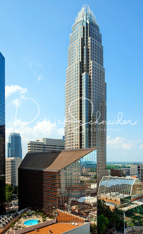 Omni Charlotte Hotel in downtown Charlotte NC.
