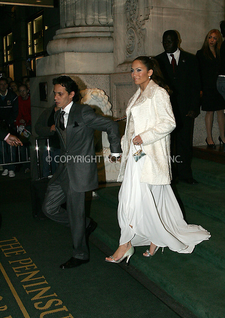 "WWW.ACEPIXS.COM . . . . . ....NEW YORK, OCTOBER 5, 2004....Jennifer Lopez and Marc Anthony leaving their midtown Manhattan hotel for the ""Shall We Dance"" premiere.....Please byline: BRIAN FLANNERY - ACE PICTURES.. . . . . . ..Ace Pictures, Inc:  ..Alecsey Boldeskul (646) 267-6913 ..Philip Vaughan (646) 769-0430..e-mail: info@acepixs.com..web: http://www.acepixs.com"