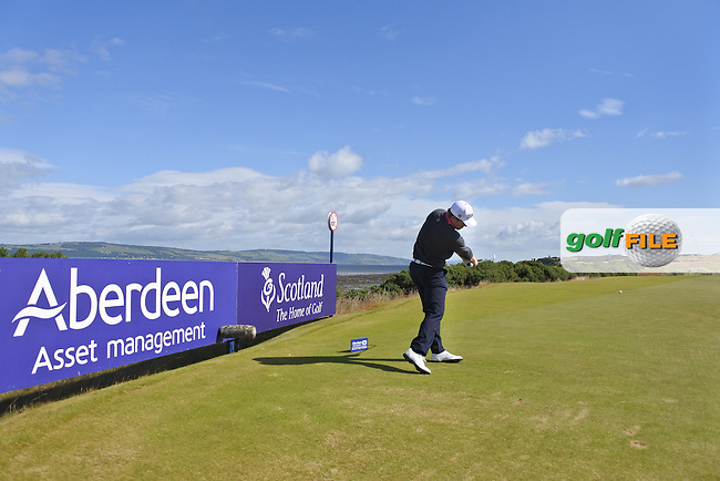 Andrew Dodt (AUS) during the first round of the Aberdeen Asset Management Scottish Open 2016, Castle Stuart  Golf links, Inverness, Scotland. 07/07/2016.<br /> Picture Fran Caffrey / Golffile.ie<br /> <br /> All photo usage must carry mandatory copyright credit (&copy; Golffile | Fran Caffrey)
