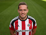 Chris Hussey of Sheffield Utd  during the 2016/17 Photo call at Bramall Lane Stadium, Sheffield. Picture date: September 8th, 2016. Pic Simon Bellis/Sportimage