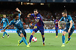 Supercopa de Espa&ntilde;a - Ida.<br /> FC Barcelona vs R. Madrid: 1-3.<br /> Marcelo, Aleix Vidal &amp; Bale.