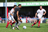 Lincoln City's Nathan Arnold scores his sides fourth goal <br /> <br /> Photographer Chris Vaughan/CameraSport<br /> <br /> Football - Pre-Season Friendly - Lincoln United v Lincoln City - Saturday 8th July 2017 - Sun Hat Villas Stadium - Lincoln<br /> <br /> World Copyright &copy; 2017 CameraSport. All rights reserved. 43 Linden Ave. Countesthorpe. Leicester. England. LE8 5PG - Tel: +44 (0) 116 277 4147 - admin@camerasport.com - www.camerasport.com