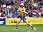 Aaron Cunningham of Clare scores the first of his two goals during their Senior quarter final against Tipperary at Pairc Ui Chaoimh. Photograph by John Kelly.
