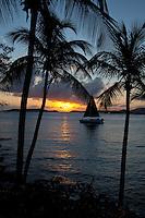 Sunset sail on Kekoa<br /> St John<br /> U.S Virgin Islands