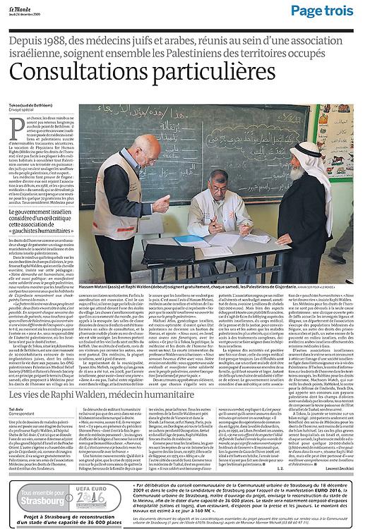 Le Monde, France - December 24, 2009