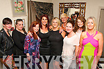 Ann Drury Kaharaman, Ballyheigue (4th left) celebrated her birthday last Saturday night in Cassidy's, Tralee along with some friends, l-r: Sabina Eitil, Nia O'Meara, Fiona O'Connor, Ann Drury Kaharaman, Caroline Corridan, Olivia Wall, Ann Marie O'Leary, Mary Keane and Norma Dunne.